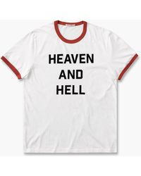 Nudie Jeans - Roy Heaven And Hell Chalk White - Lyst