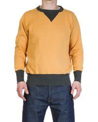 Levi's - Bay Meadows Sweatshirt Yellow - Lyst