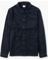 Japan Blue Jeans Sashiko Coverall Indigo - Blue
