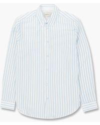 Holzweiler Stay Shirt Blue Stripe