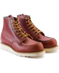 Red Wing 8131d Moc Toe Oro Russet Portage - Red
