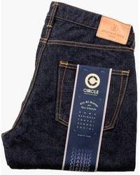 Japan Blue Jeans J401 Circle Classic Straight Vintage Selvedge 14.8oz - Blue