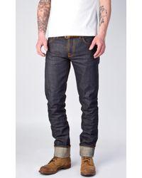 Nudie Jeans - Nudie Jeans Grim Tim Dry Selvage 13.5oz - Lyst