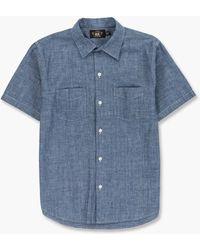 RRL Fenton Shirt Chambray Blue
