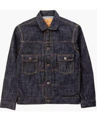 Japan Blue Jeans Cote D'voire Monster Denim Jacket Selvedge 16.5oz - Blue