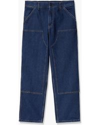 Carhartt WIP Double Knee Pant Denim Blue Stone Washed