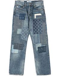 FDMTL Classic Straight Denim Cs63 Indigo - Blue