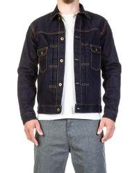 Japan Blue Jeans Jbjk1012-j Monster Selvage Jacket Indigo 16.5oz - Blue