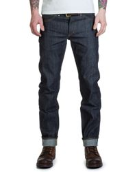Lee Jeans - S Jeans Original Blue Dry Selvage 13.75oz - Lyst