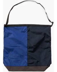Nanamica N Utility Shoulder Bag L Navy Blue