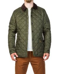 Barbour - Quilted Jacket Heritage Liddesdale Olive - Lyst
