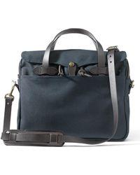 Filson Original Briefcase Navy - Blue