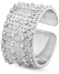 Sophie Simone Designs Large Horizon Ring - Metallic