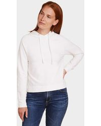 Majestic Filatures French Terry L/s Hoodie - White