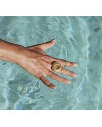 Sophie Simone Designs Large Sea Urchin Ring - Multicolor