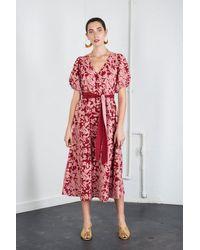 Carolina K Flora Dress - Multicolor