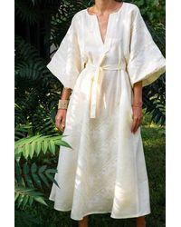 My Sleeping Gypsy Etna Long Dress - White