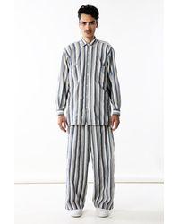 Marrakshi Life Button Down Shirt - Blue