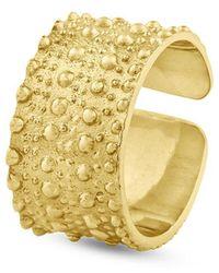Sophie Simone Designs Horizon Large Ring - Metallic