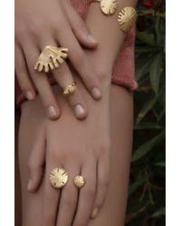 Sophie Simone Designs Ibiza Double Ring - Multicolor