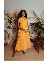 Carolina K Selah Dress - Yellow