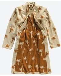 Oas The Palmy Robe - Brown