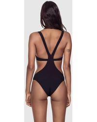 Kiki de Montparnasse Tankini One Piece Swim Suit - Black