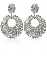 S. CARTER DESIGNS Disco Diamond Earrings - Multicolour