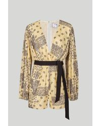 In the mood for love Clelia Jumpsuit - Yellow