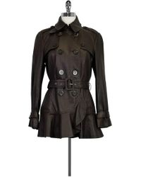 Moschino Cheap & Chic - Brown Leather Jacket