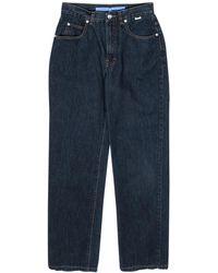 ESCADA Sport - High-waisted Dark Wash Straight Leg Jeans - Blue