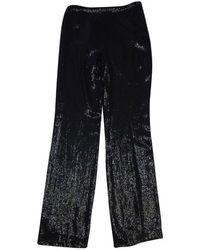 Akris Black Sequined Pants