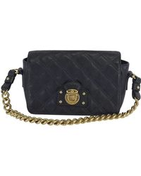 Marc Jacobs - Black Quilted Leather Handbag - Lyst