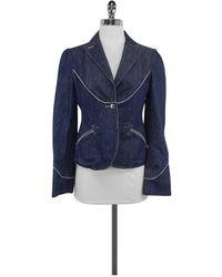 Marc Jacobs Blue Cotton Denim Jacket