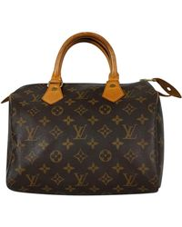 Louis Vuitton - Monogram Speedy 25 Bag Sd0929 - Lyst