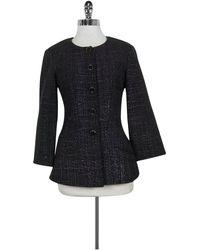 Chanel Purple Tweed Jacket