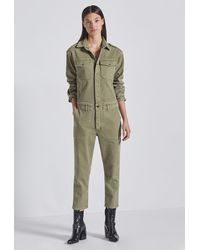 Current/Elliott The Crew Coverall - Green