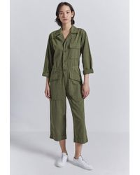 Current/Elliott The Richland Coverall - Green