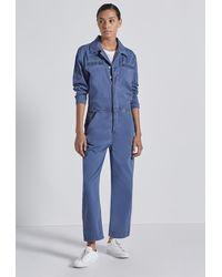 Current/Elliott The Penny Coverall - Blue