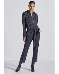 Current/Elliott The Kaya Coverall - Black