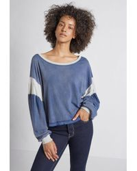 Current/Elliott - The Two Step Colorblocked Top - Lyst