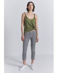Current/Elliott - The Lexton Stripe Crop Pants - Lyst