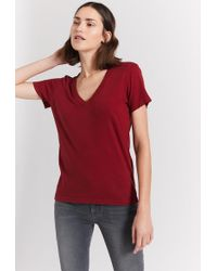 Current/Elliott - The Perfect V Tee - Lyst