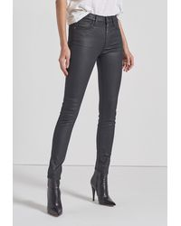 Current/Elliott - The High Waist Ankle Skinny Jean - Lyst