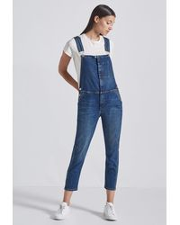 Current/Elliott The Ranch Hand Overall - Blue