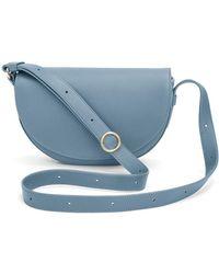 Cuyana Half-moon Mini Bag - Blue