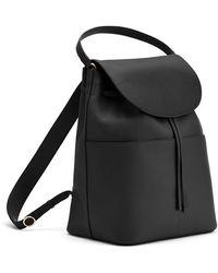 Cuyana Large Leather Backpack - Black