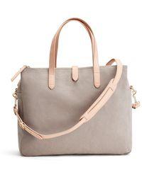 Cuyana Triple Zipper Overnight Bag - Gray