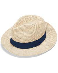 Cuyana Folding Panama Hat - Multicolor