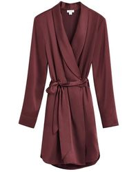 Cuyana Charmeuse Wrap - Red